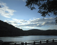 Click to enlarge photo of Hessian Lake at Bear Mountain Park