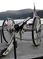 Click to enlarge photo of the Parrott Gun (Parrott Rifle)