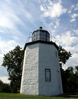 Click to enlarge photo of Stony Point Lighthouse